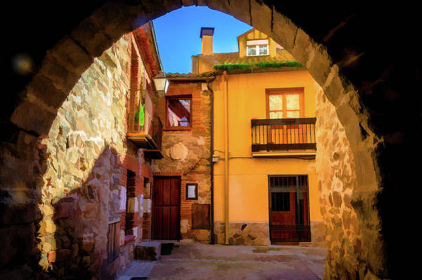 Photograph - Houses Through The Arch by Borja Robles