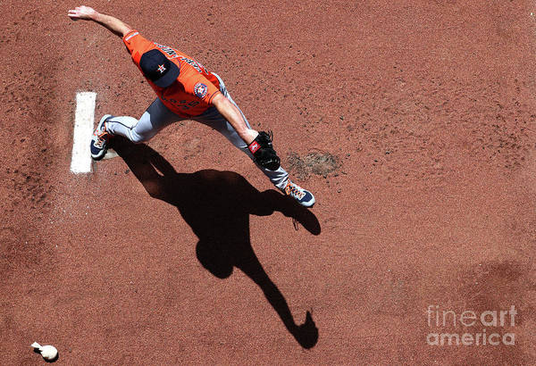Wall Art - Photograph - Houston Astros V Seattle Mariners by Abbie Parr