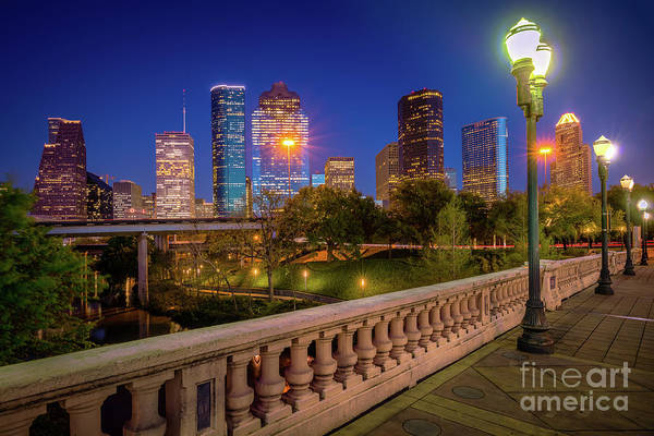 Wall Art - Photograph - Houston Evening Stoll by Inge Johnsson