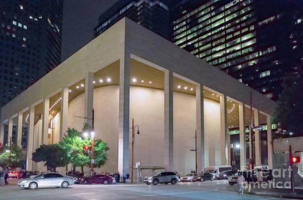 Wall Art - Photograph - Houston Jones Hall by Norman Gabitzsch