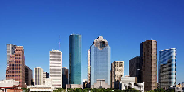 Photograph - Houston Skyline by Jeremy Woodhouse