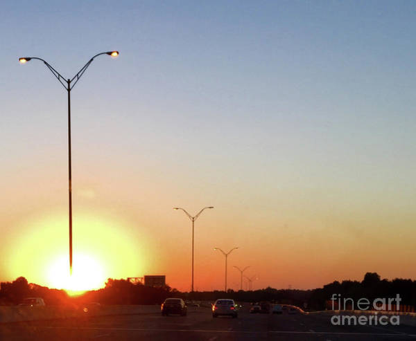 Wall Art - Photograph - Houston Sunset by Andrew Dinh