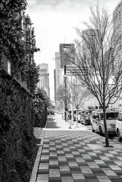 Photograph - Houston Texas City Sidewalk by Dan Sproul
