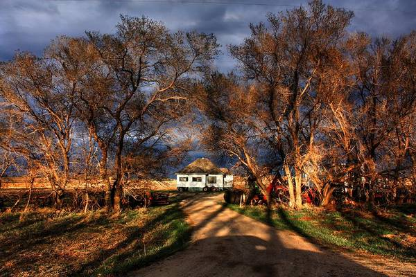 Photograph - Hovel On The Prairie  by David Matthews