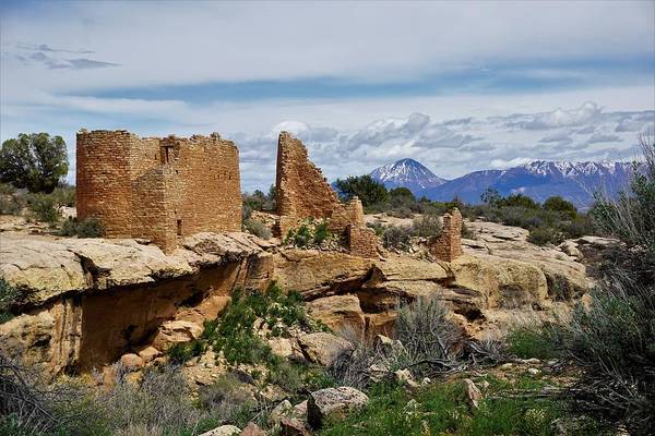 Photograph - Hovenweep Castle by Tranquil Light Photography