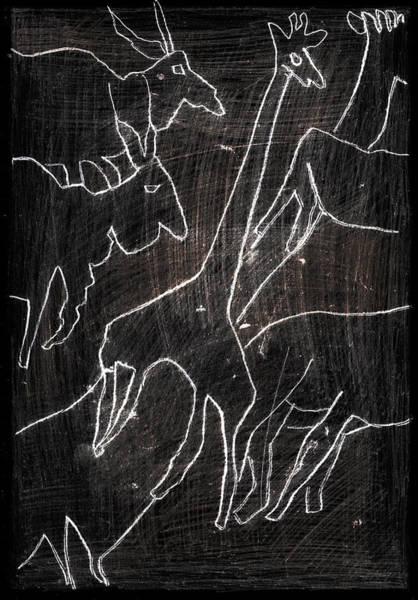 Digital Art - How The Leopard Got His Spots Dr10ed3 by Artist Dot