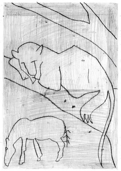 Digital Art - How The Leopard Got His Spots Dr13ed3 by Artist Dot
