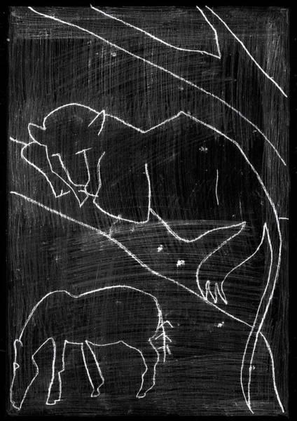 Digital Art - How The Leopard Got His Spots Dr13ed4 by Artist Dot
