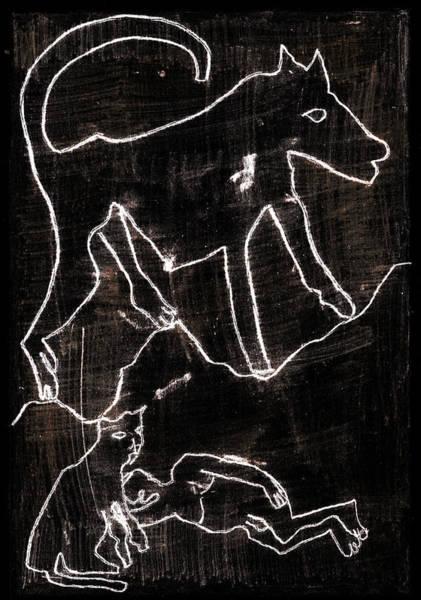 Digital Art - How The Leopard Got His Spots Dr22ed3 by Artist Dot