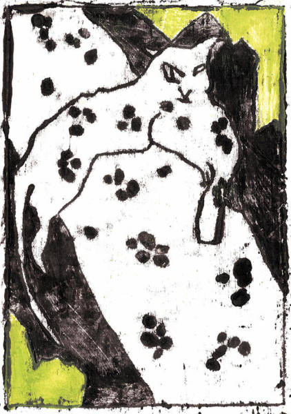 Painting - How The Leopard Got His Spots Oil Painting Otd2 by Artist Dot