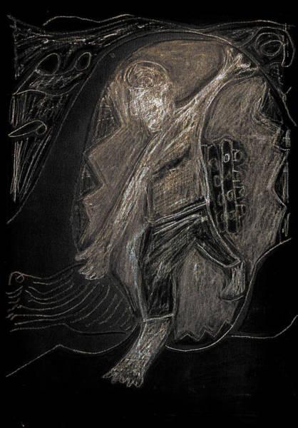 Digital Art - How The Whale Got His Throat 42-2 by Artist Dot