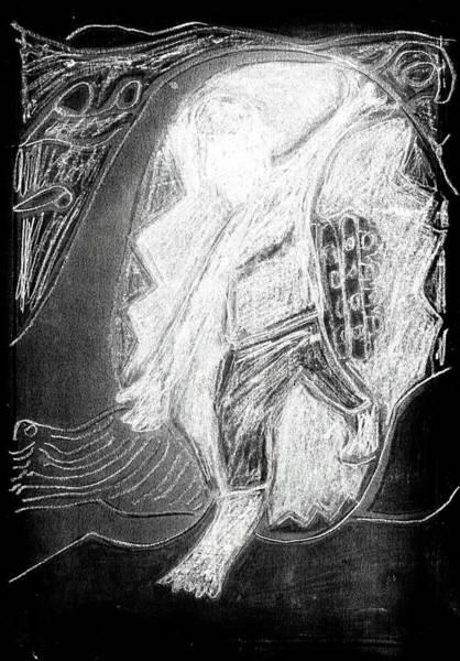 Digital Art - How The Whale Got His Throat 42-3 by Artist Dot