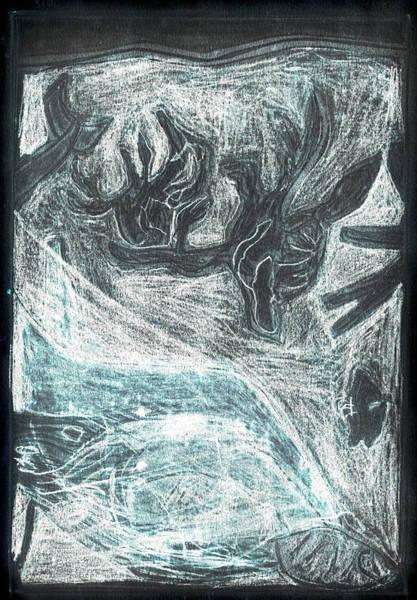 Digital Art - How The Whale Got His Throat 44-2 by Artist Dot