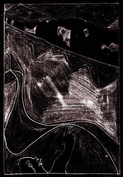 Digital Art - How The Whale Got His Throat 46-3 by Artist Dot
