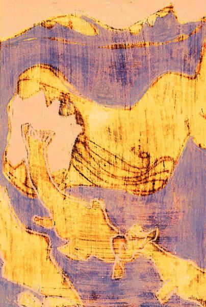 Digital Art - How The Whale Got His Throat 502 by Artist Dot