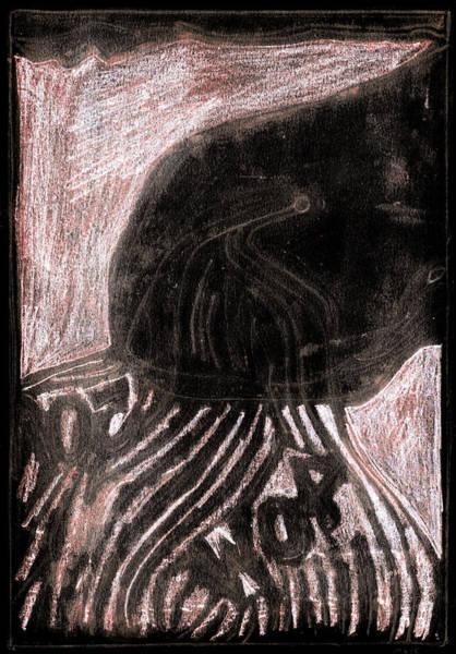Digital Art - How The Whale Got His Throat 54-4 by Artist Dot