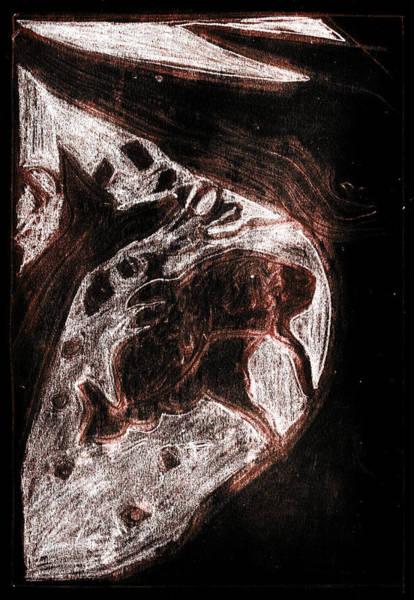 Digital Art - How The Whale Got His Throat 57-4 by Artist Dot