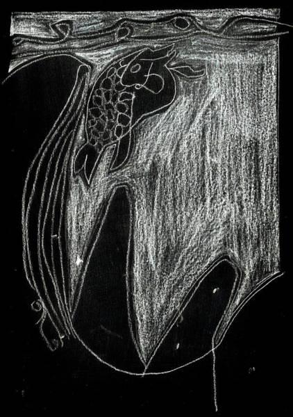Digital Art - How The Whale Got His Throat 59-1 by Artist Dot