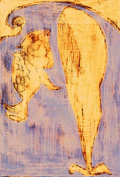 Digital Art - How The Whale Got His Throat C212 by Artist Dot
