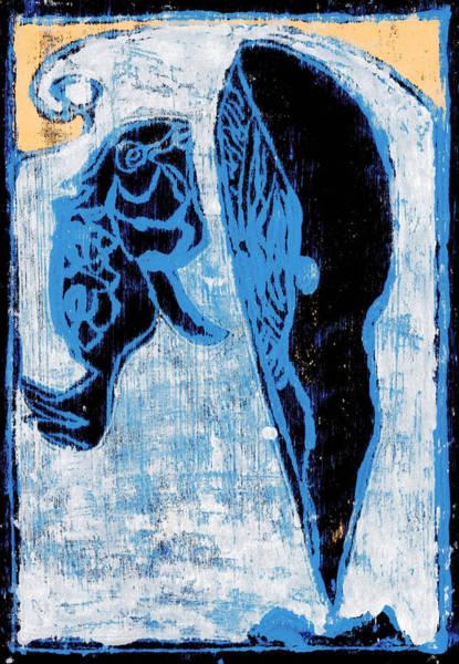Digital Art - How The Whale Got His Throat C242 by Artist Dot