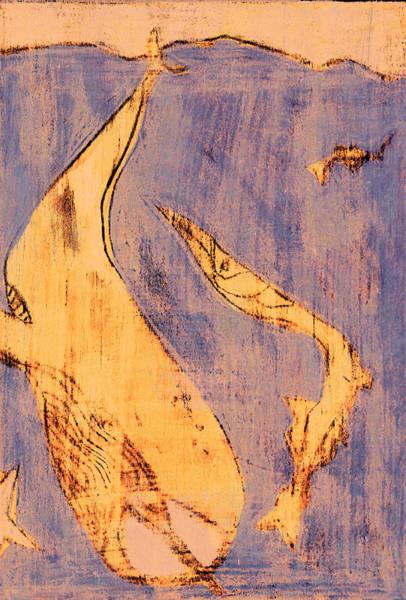 Digital Art - How The Whale Got His Throat C302 by Artist Dot