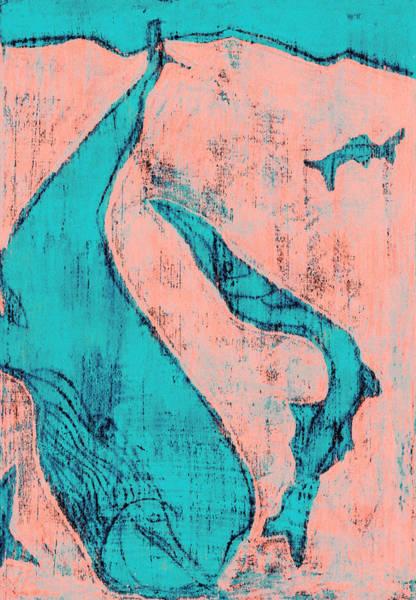 Digital Art - How The Whale Got His Throat C312 by Artist Dot