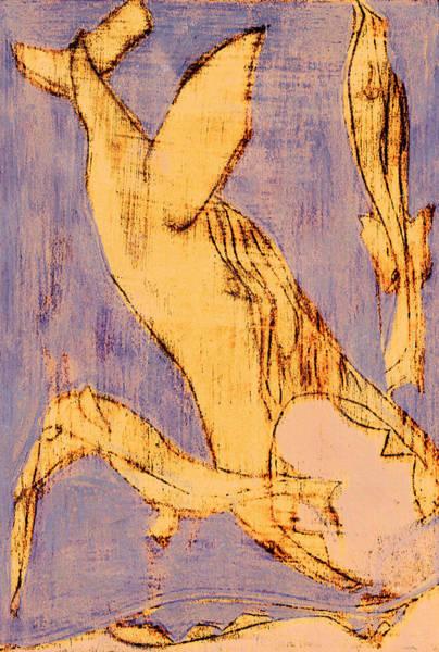 Digital Art - How The Whale Got His Throat C332 by Artist Dot