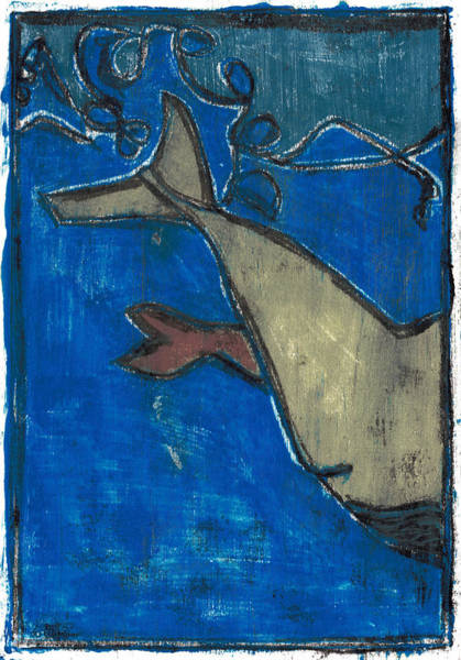 Painting - How The Whale Got His Throat Oil 14 by Artist Dot