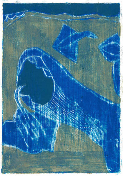 Painting - How The Whale Got His Throat Oil 25 by Artist Dot