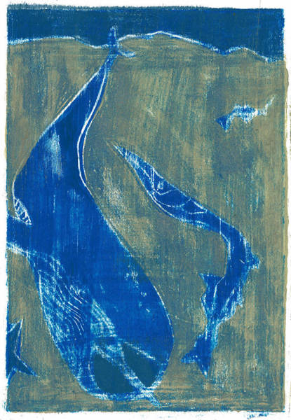 Painting - How The Whale Got His Throat Oil 30 by Artist Dot