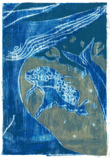 Painting - How The Whale Got His Throat Oil 55 by Artist Dot