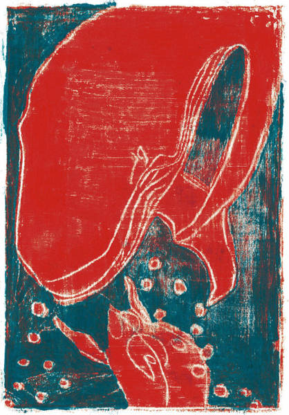 Painting - How The Whale Got His Throat Oil 63 by Artist Dot