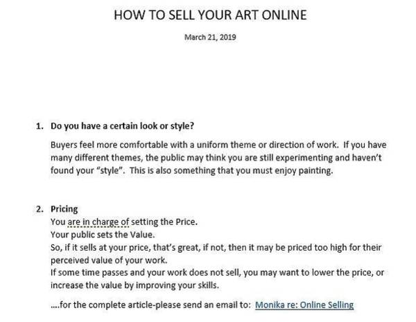 Mixed Media - How To Sell Online-pt2 by Monika Shepherdson