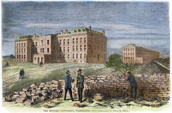 Painting - Howard University, 1869 by Granger