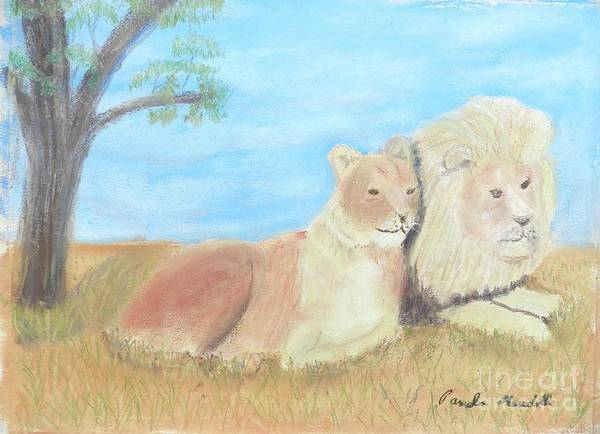Wall Art - Painting - Happy Couple by Pamela Meredith
