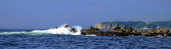 Photograph - Huatulco Lighthouse by Rick Lawler