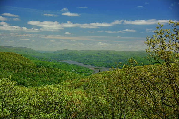 Photograph - Hudson River From The Mountains by Raymond Salani III