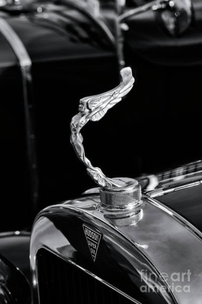 Photograph - Hudson Super Six Hood Ornament by Tim Gainey