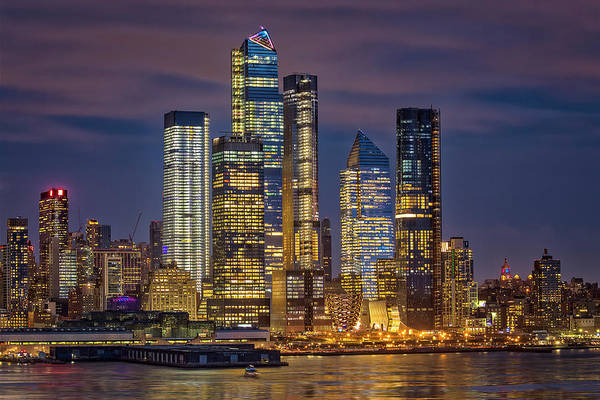 Photograph - Hudson Yards Nyc Skyline by Susan Candelario