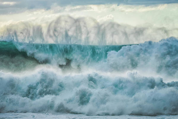 Wall Art - Photograph - Huge Waves Crashing Near The Shores by Robert Postma