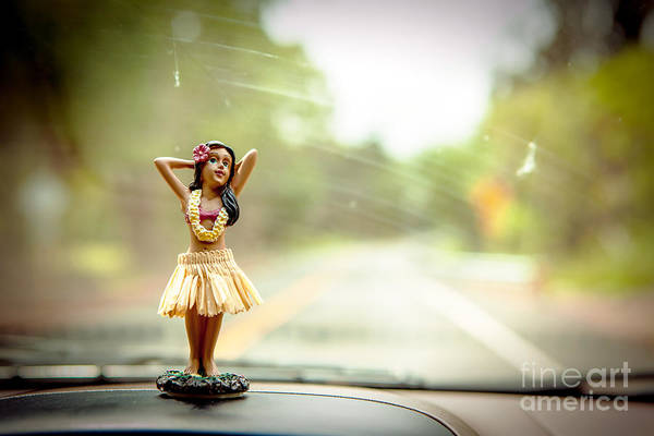 Wall Art - Photograph - Hula Dancer by Henry Lien