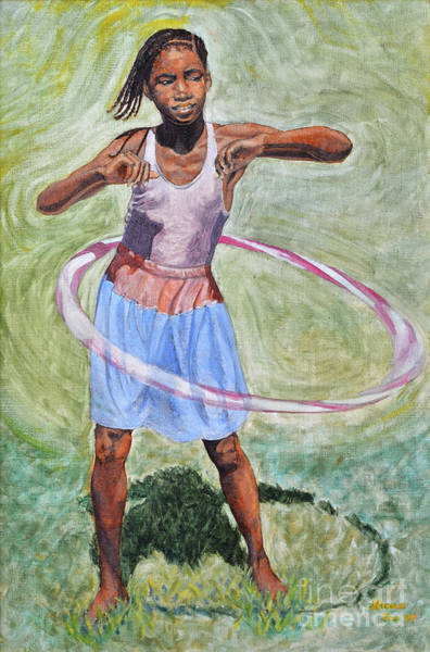 Painting - Hula Hoop  by Nicole Minnis