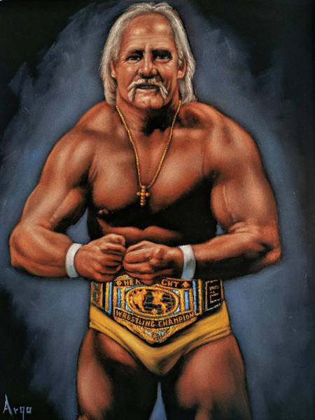 World Wrestling Federation Wall Art - Painting - Hulk Hogan by Argo