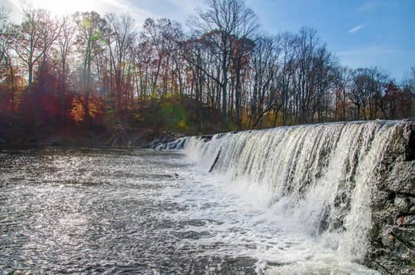 Photograph - Hulmeville Neshaminy Falls - Bucks County Pa by Bill Cannon