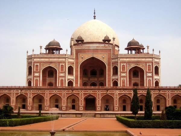 The Empire Photograph - Humayuns Tomb by Andrew J Timmis