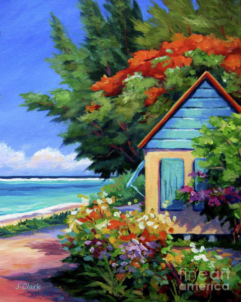 Brac Painting - Humble Home by John Clark