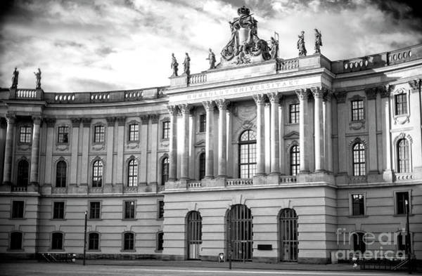 Wall Art - Photograph - Humboldt University Of Berlin by John Rizzuto