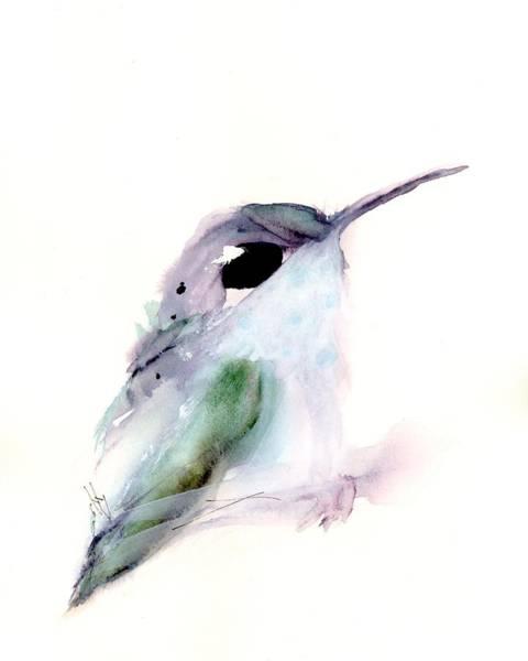 Painting - Hummingbird Series 2019 #1 by Dawn Derman