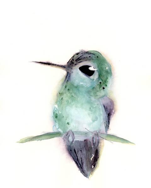 Painting - Hummingbird Series 2019 #4 by Dawn Derman