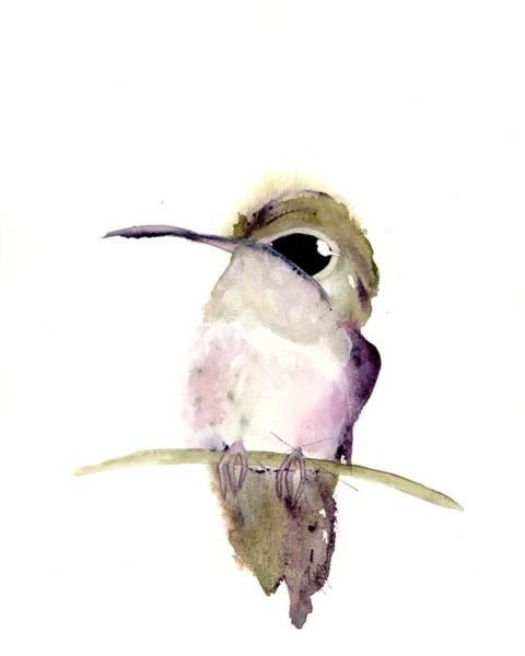Painting - Hummingbird Series 2019 #5 by Dawn Derman